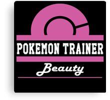 Pokemon Trainer - Beauty Canvas Print