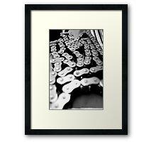 Chain - B&W Framed Print