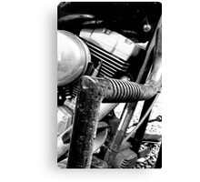 Engine Guard Canvas Print