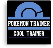 Pokemon Trainer - Cool Trainer Canvas Print