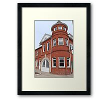 Township Hall - Holly, Michigan Framed Print