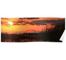 Heckscher Sunset Poster