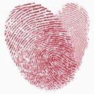 finger print heart by creativemonsoon
