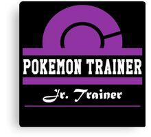 Pokemon Trainer - Jr. Trainer Canvas Print