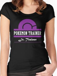 Pokemon Trainer - Jr. Trainer Women's Fitted Scoop T-Shirt