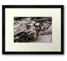 Workshop - color Framed Print