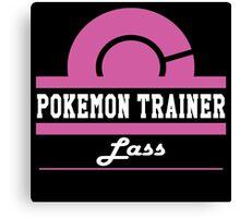Pokemon Trainer - Lass Canvas Print