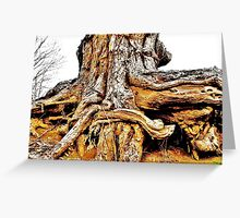 Dragon Scale Tree Greeting Card
