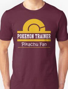 Pokemon Trainer - Pikachu Fan T-Shirt