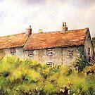 Pleine aire at Piddinghoe village. by LorusMaver