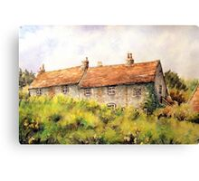 Pleine aire at Piddinghoe village. Canvas Print