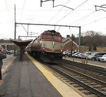 1074 MBTA Commuter Rail by Eric Sanford
