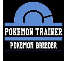 Pokemon Trainer - Pokemon Breeder Photographic Print