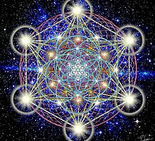 Sacred Geometry 41 by Endre