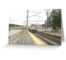 906 Amtrak Regional Greeting Card