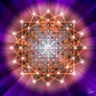 Sacred Geometry 43 by Endre