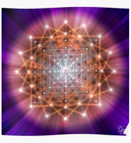 Sacred Geometry 43 Poster