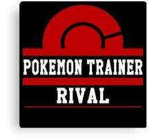 Pokemon Trainer - Rival Canvas Print