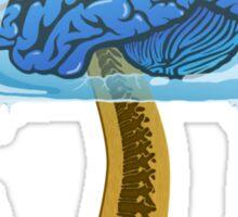 Brain-Freezicle Sticker