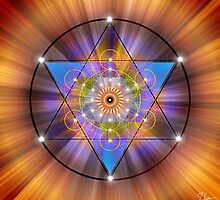 Sacred Geometry 44 by Endre