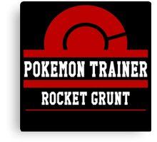 Pokemon Trainer - Rocket Grunt Canvas Print