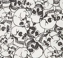 Spooky Skulls by gwynnethann