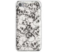 Spooky Skulls iPhone Case/Skin