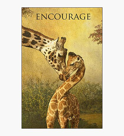 Encourage Photographic Print