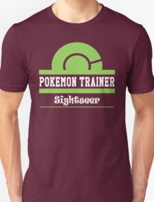 Pokemon Trainer - Sightseer T-Shirt