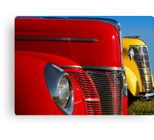 Red & Yellow Canvas Print