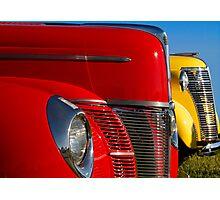 Red & Yellow Photographic Print