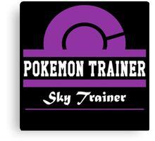 Pokemon Trainer - Sky Trainer Canvas Print