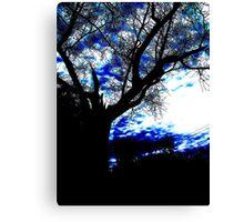 Darkened Silhouette  Canvas Print