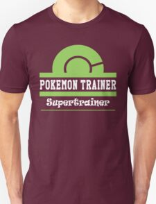 Pokemon Trainer - Supertrainer T-Shirt