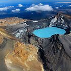 Crater Lake, Mt Ruapehu, Tongariro World Heritage National Park, North Island, New Zealand by bdimages