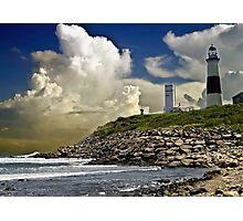Montauk Point Photographic Print