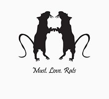 Must. Love. Rats 2011 - 2 Brothers Unisex T-Shirt