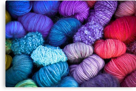 Bundles of Yarn by Reese Ferrier