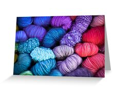 Bundles of Yarn Greeting Card