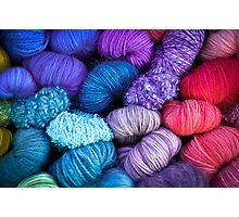 Bundles of Yarn Photographic Print