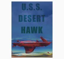 USS Desert Hawk One Piece - Short Sleeve