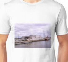 Docked At Ft. Trumbull 2 Unisex T-Shirt