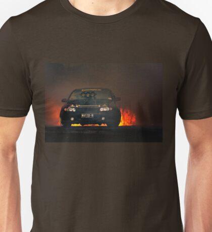 NUTTD8 Tread Cemetery Burnout Unisex T-Shirt
