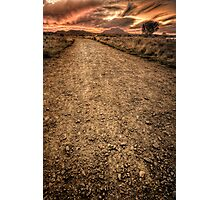 Hell Path Photographic Print