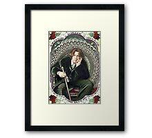 Oscar Wilde 2 Framed Print