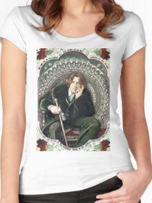 Oscar Wilde 2 Women's Fitted Scoop T-Shirt