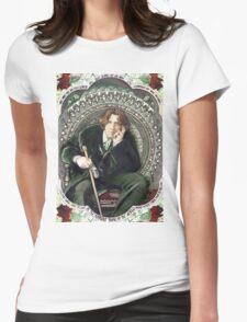 Oscar Wilde 2 Womens Fitted T-Shirt