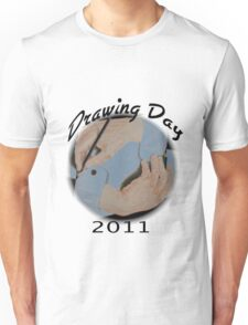 Drawing day logo Unisex T-Shirt