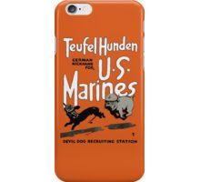 Devil Dog Recruiting Station - WW1 Marine Corps iPhone Case/Skin