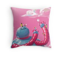 Strawberry Flavor Throw Pillow